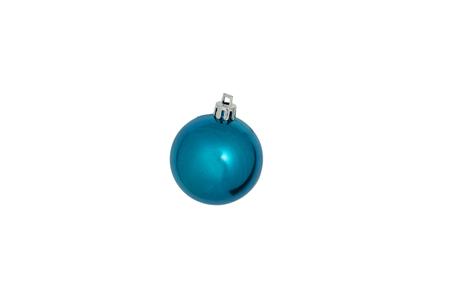 Blauwe Kerst decoratie