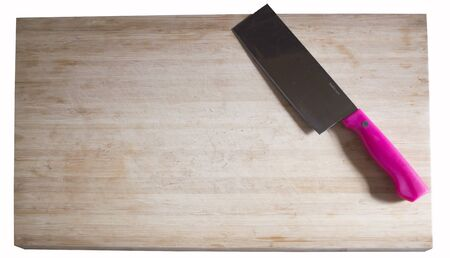cutting: Cutting Board pink knife