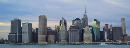 New York Skyline 2 Stockfoto