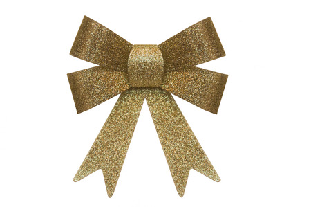 Gold bow