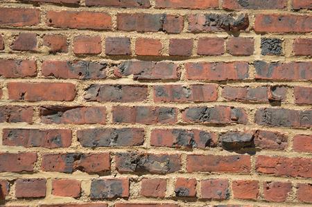 Bakstenen muur textuur Stockfoto