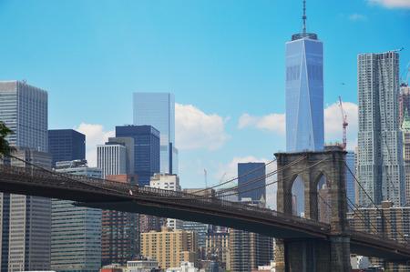 De brug van Brooklyn 2 Stockfoto