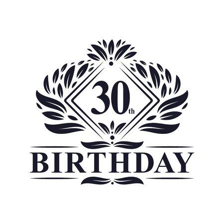 30 years Birthday , Luxury 30th Birthday Celebration.
