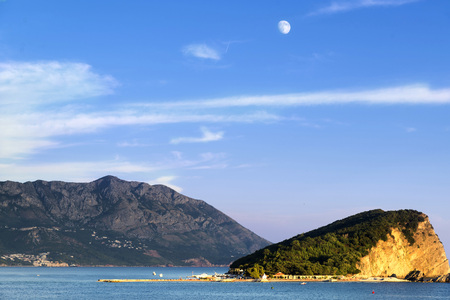 moutains: Island in Montenegro