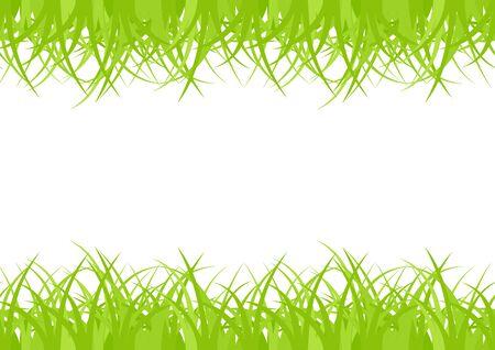Horizontal framework, seamless green grass Stock Vector - 8346167