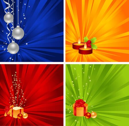 hollyberry: Set backgrounds with new year decorations.