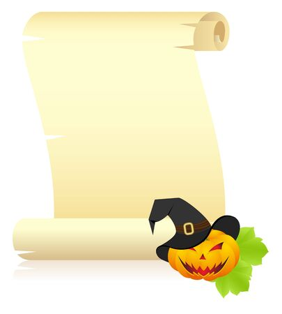 gourds: Halloween letter isolated on a white.