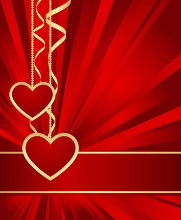 Elegant floral-pattern red background. Vector illustration. Stock Vector - 12136962