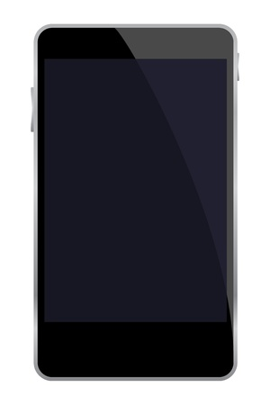 Vector illustration of mobile phone  Vector