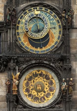 r�publique  tch�que: Montre astronomique de Prague en R�publique tch�que Banque d'images
