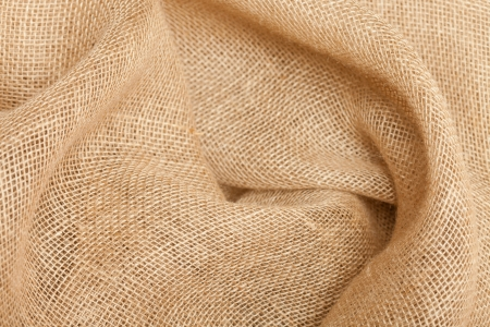 gunny: Close-up view of sackcloth texture for background Stock Photo