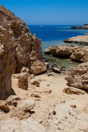 mohammed: National park Ras Mohammed in Egypt. Sea view.