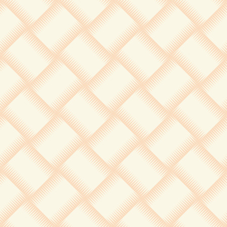 thatched: Yellow wicker texture used as seamless background. Vector illustration.