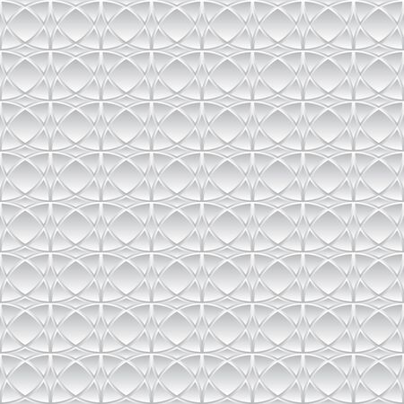 traditional silver wallpaper: Simple seamless oriental pattern for tile. Vector illustration.