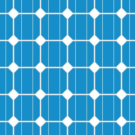 solar cell: illustration of a seamless photovoltaik solar cell pattern. vector Illustration