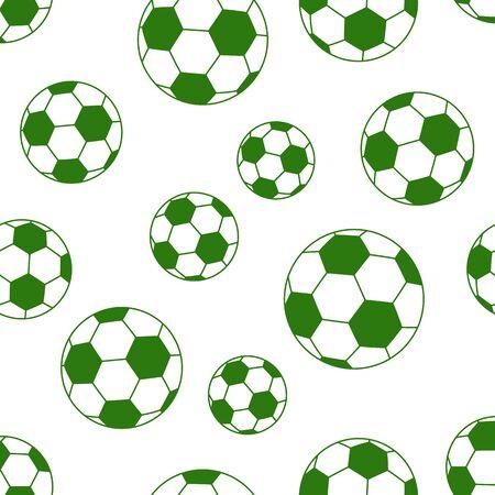 futbol soccer dibujos: bal�n de f�tbol sin fisuras aisladas sobre fondo blanco. ilustraci�n vectorial Vectores