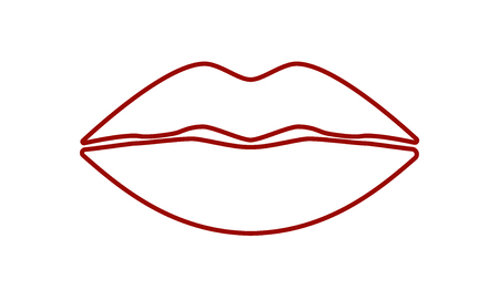 mouth close up: Cool Sexy Lips
