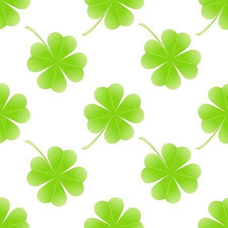 seamless clover: St Patrick day