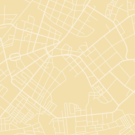 黄色のベクトル地図