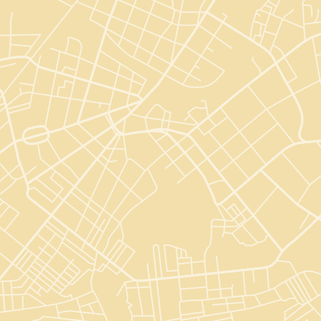 yellow vector map Stock Photo