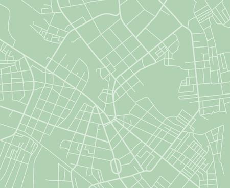 Green vector map