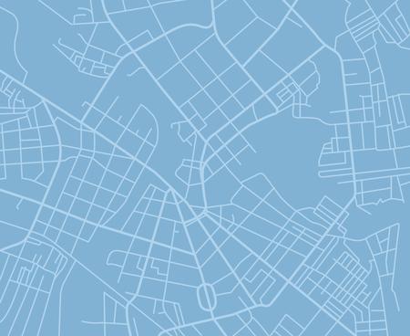 青いベクトル マップ