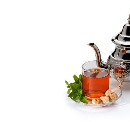 Traditional moroccan tea