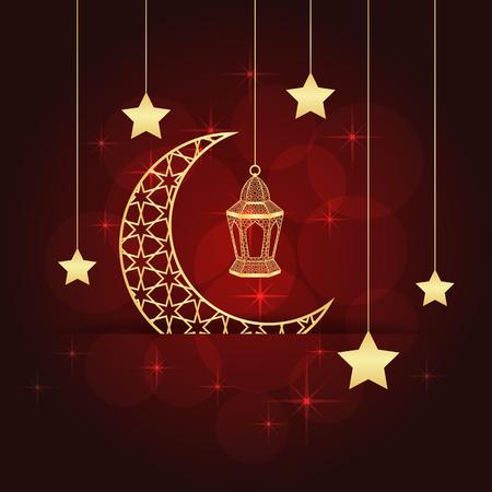 Ramadan greeting card creative concept design