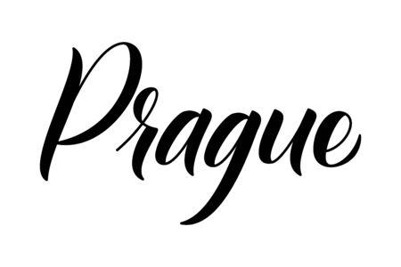 Brush calligraphy Prague