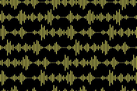 Seamless pattern of Sound waves