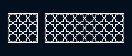 Islamic pattern for laser cutting