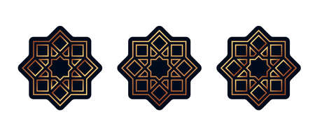 Set of stickers for Ramadan