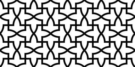 Geometric Islamic Seamless Pattern Standard-Bild - 164289418