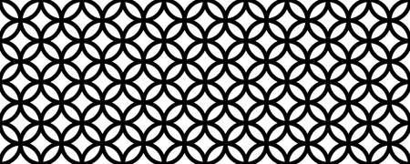 Geometric Islamic Seamless Pattern Standard-Bild - 164289442