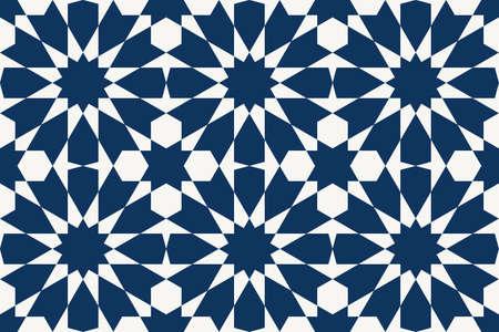 Geometric Islamic Seamless Pattern Standard-Bild - 164289444