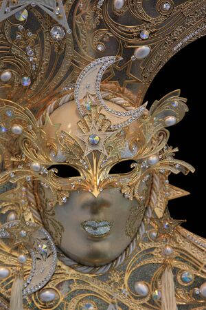 Beautiful carnival mask from venice Italy photo