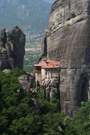monasteri: Monasteri di Meteora Grecia Archivio Fotografico