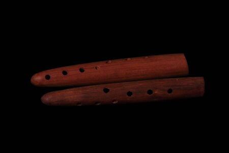 Wooden Flute Stock Photo - 3666076
