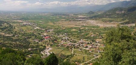 thessalia: The city of Kalambaka Meteora Thessalia central  Greece Stock Photo