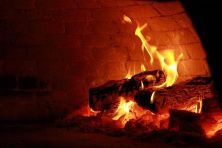fire bricks: Pizza Oven Stock Photo