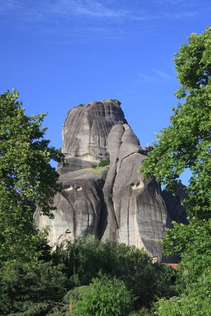 thessalia: The rocks of Meteora in Thessalia Greece