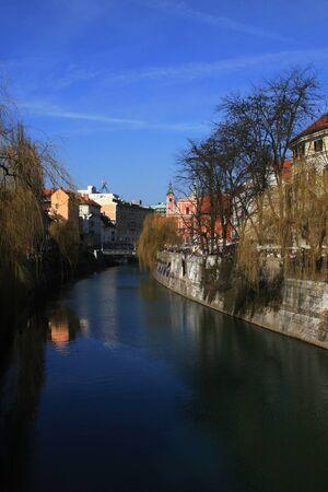 Spring in Ljubljana Slovenia photo