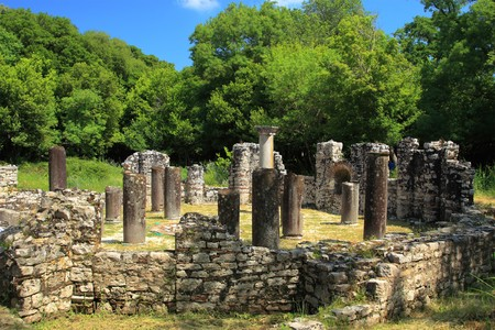 Archeological site of Butrint in Albania