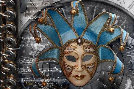 carnivale: Venetian Mask composition