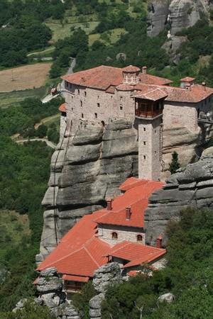 thessalia: Monasteries of Meteora in Thessalia Greece