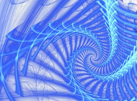 harmony idea: An artistic colored and fantasy fractal background