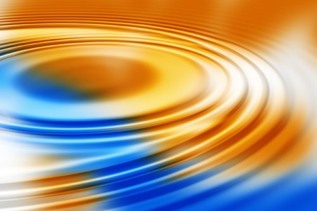 smooth colorful water ripples background photo