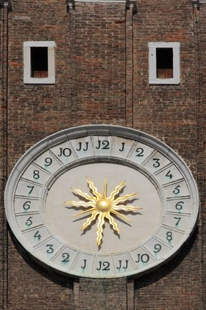 Clock in Venice, Italy photo