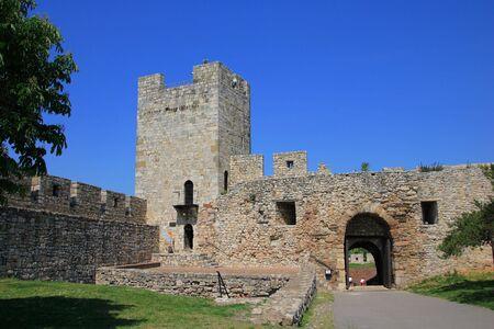 serbia: Kalemegdan fortress in Belgrade Serbia