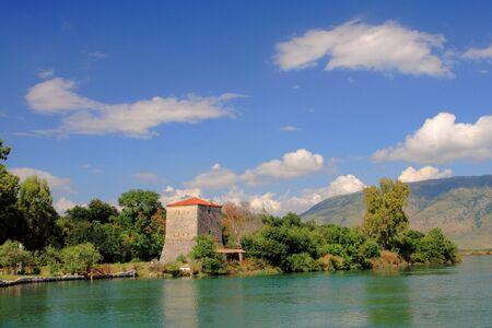 Arch�ologische St�tte von Butrint in Albanien